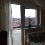 Műanyag erkély ajtó és ablak