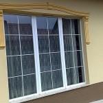 Három szárnyú műanyag ablak beépítés